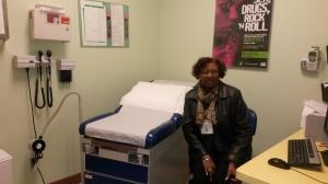 Primary care room w Karen Hudson