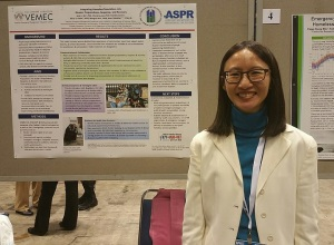 Dr. June Gin at the Poster Session